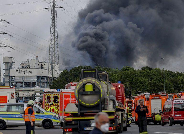 Vehículos de emergencias de bomberos