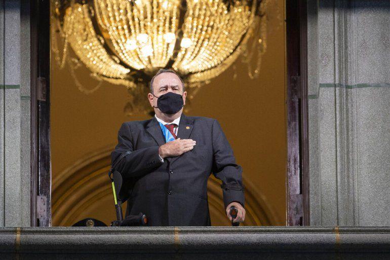 El presidente de Guatemala