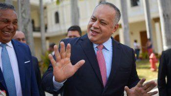 Diosdado Cabello, jefe de la ilegal oficialista Asamblea Constituyente y considerado el hombre más poderoso del gobierno venezolano luego del presidente Nicolás Maduro.