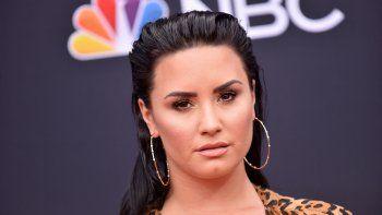 En esta foto de archivo tomada el 20 de mayo de 2018, la cantante y compositora Demi Lovato asiste a los Billboard Music Awards 2018 en el MGM Grand Resort International en Las Vegas, Nevada.