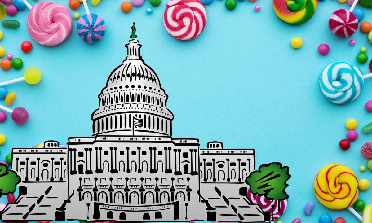 El escritorio de los dulces: el arma secreta de los senadores de EEUU