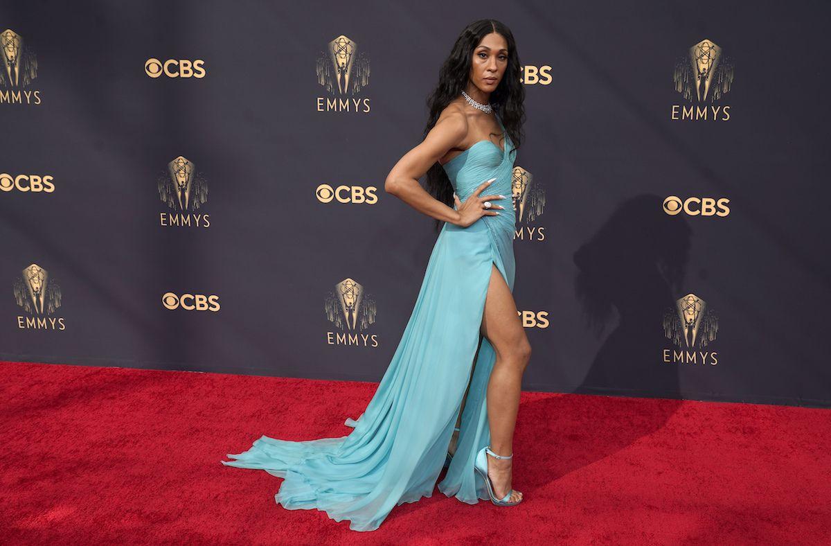 Mj Rodriguez llega a la 73ra entrega anual de los premios Emmy, el domingo 19 de septiembre de 2021 en Los Angeles.