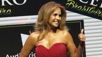 En esta fotografía de archivo del 30 de abril de 2019 la cantante y actriz mexicana Lucero posa durante una conferencia de prensa para promover su álbum Brasileira (En Vivo) el miércoles 30 de abril de 2019.