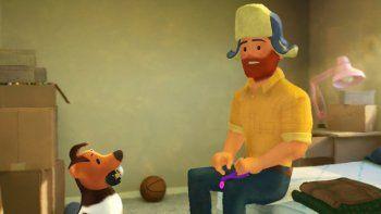 """Una escena del corto animado """"Out"""" de Pixar en una imagen proporcionada por Pixar Animation Studios. El cortometraje tiene al primer protagonista gay en los 25 años de historia de Pixar."""