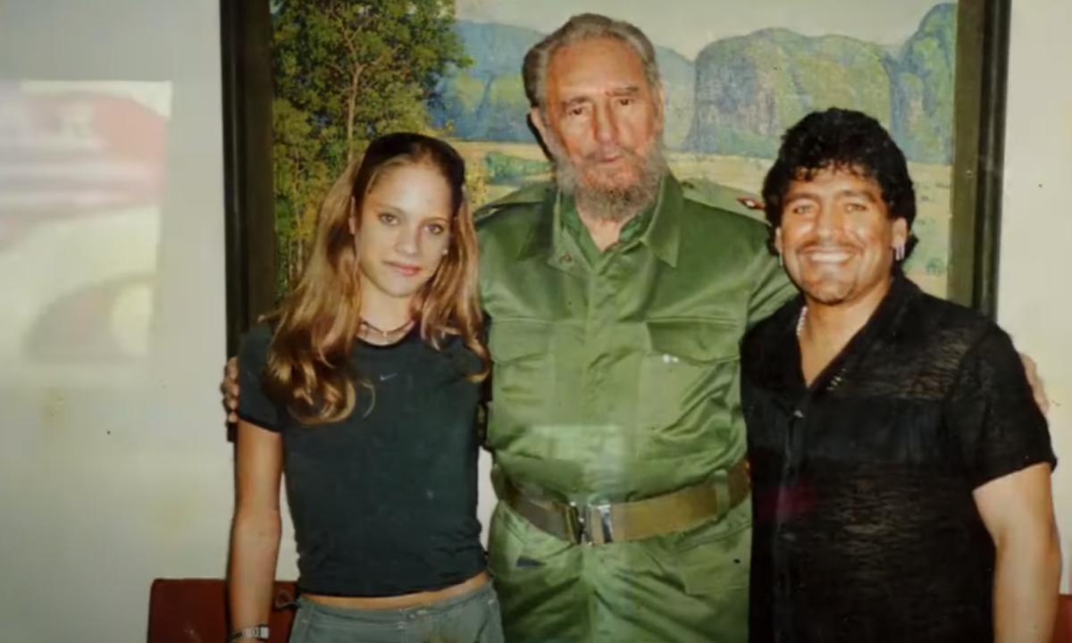 Aparece video íntimo de Maradona con menor de edad