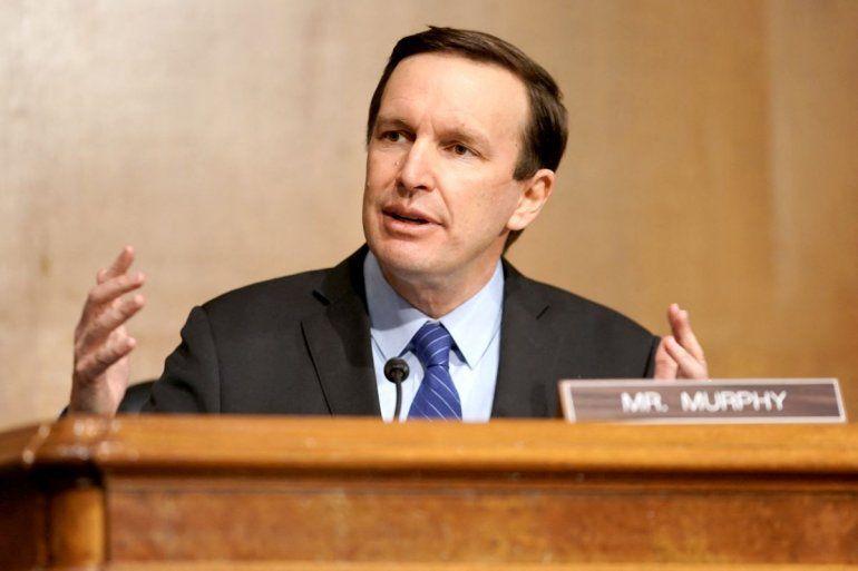 El senador demócrata Chris Murphy