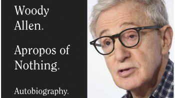 En esta combinación de fotos, el cineasta Woody Allen y la portada de su libro de memorias Apropos of Nothing, que se publicará el 7 de abril del 2020.