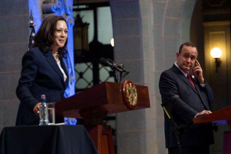 El presidente guatemalteco Alejandro Giammattei