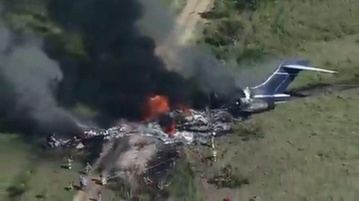 Según el Departamento de Seguridad Pública de Texas, la aeronave se dirigía a la ciudad de Boston