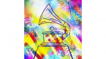 En esta imagen proporcionada por la Academia Latina de la Grabación, el póster oficial de la 21 edición de los Latin Grammy, creado por la pintora y muralista puertorriqueña Sofía Maldonado. La ceremonia de premios se transmitirá en vivo por Univision el 19 de noviembre.