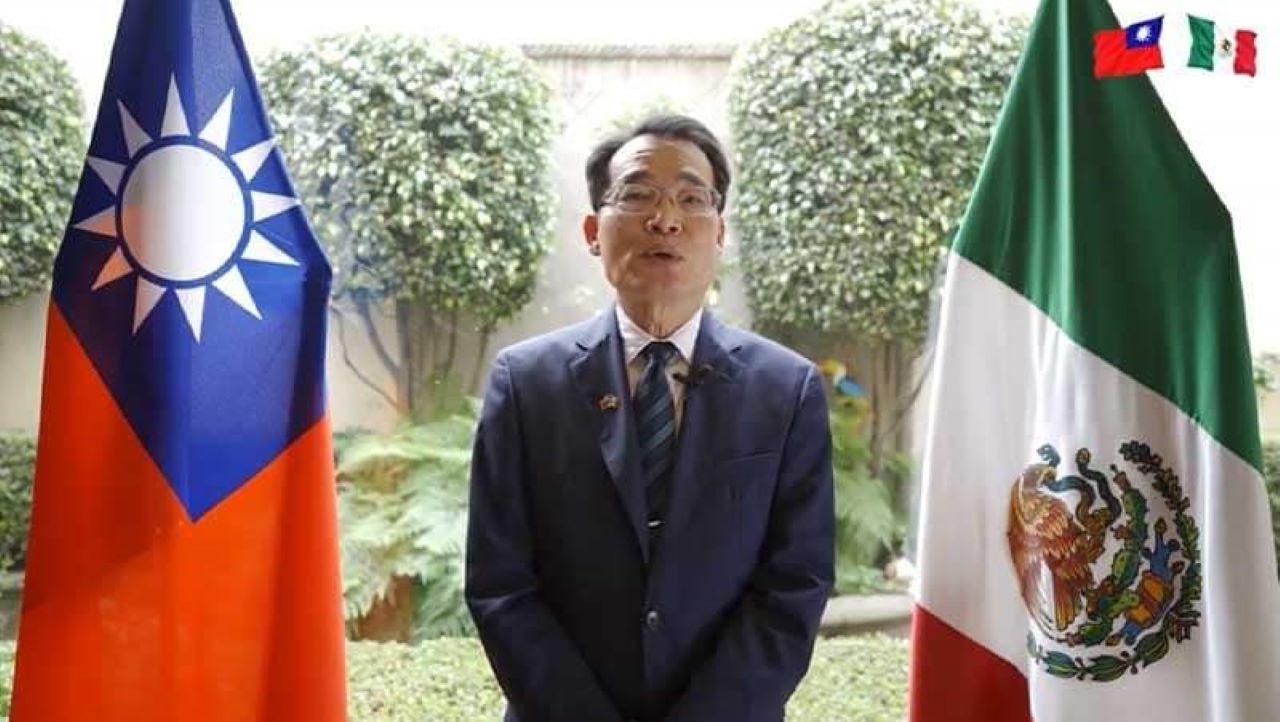 Embajador de Taiwán en México Armando Cheng.