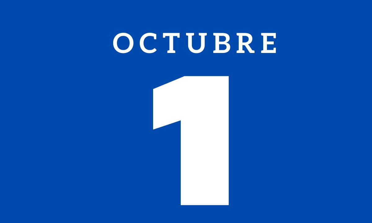 10 hechos relevantes ocurridos un 1 de octubre