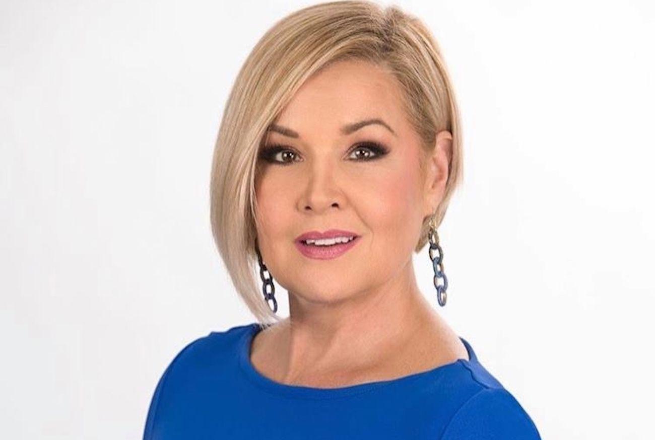 La periodista Sandra Peebles.