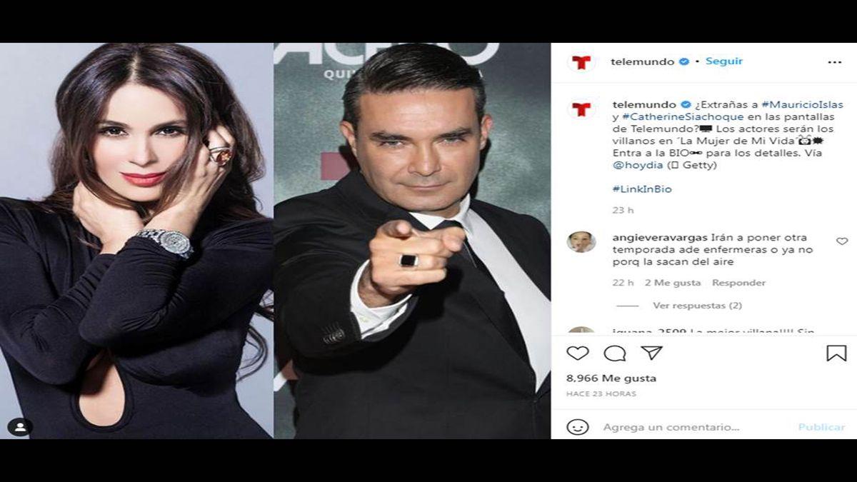 Telemundo revela el elenco de La mujer de mi vida.