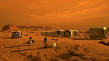 Este concepto representa a los astronautas y los hábitats humanos en Marte. El rover Mars 2020 de la NASA llevará una serie de tecnologías que podrían hacer que Marte sea más seguro y más fácil de explorar para los humanos.
