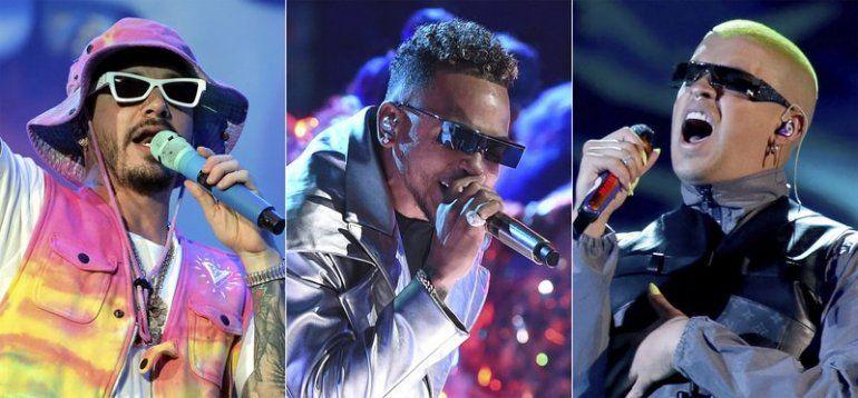 J Balvin se presenta durante el festival Coca-Cola Flow Reggaeton en la Ciudad de México el 23 de noviembre de 2019