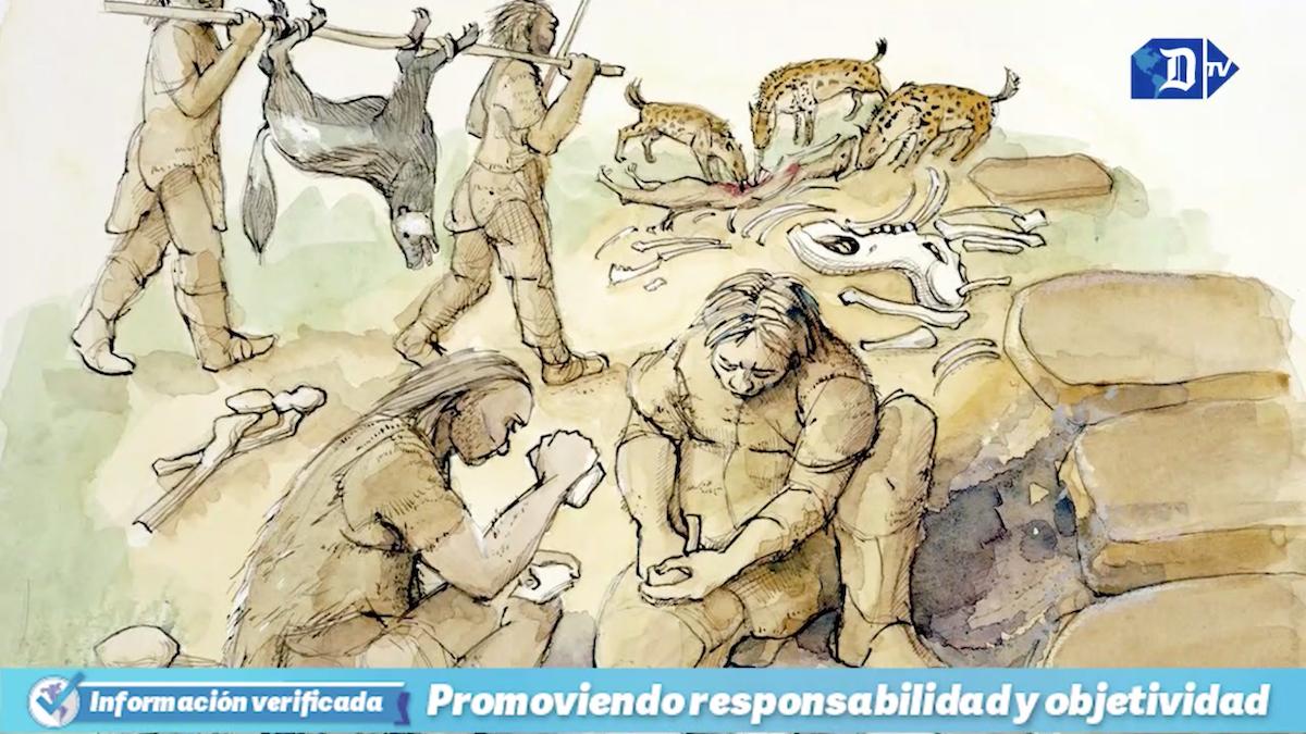 descubren instrumentos para tratar el cuero de hace 120.000 anos