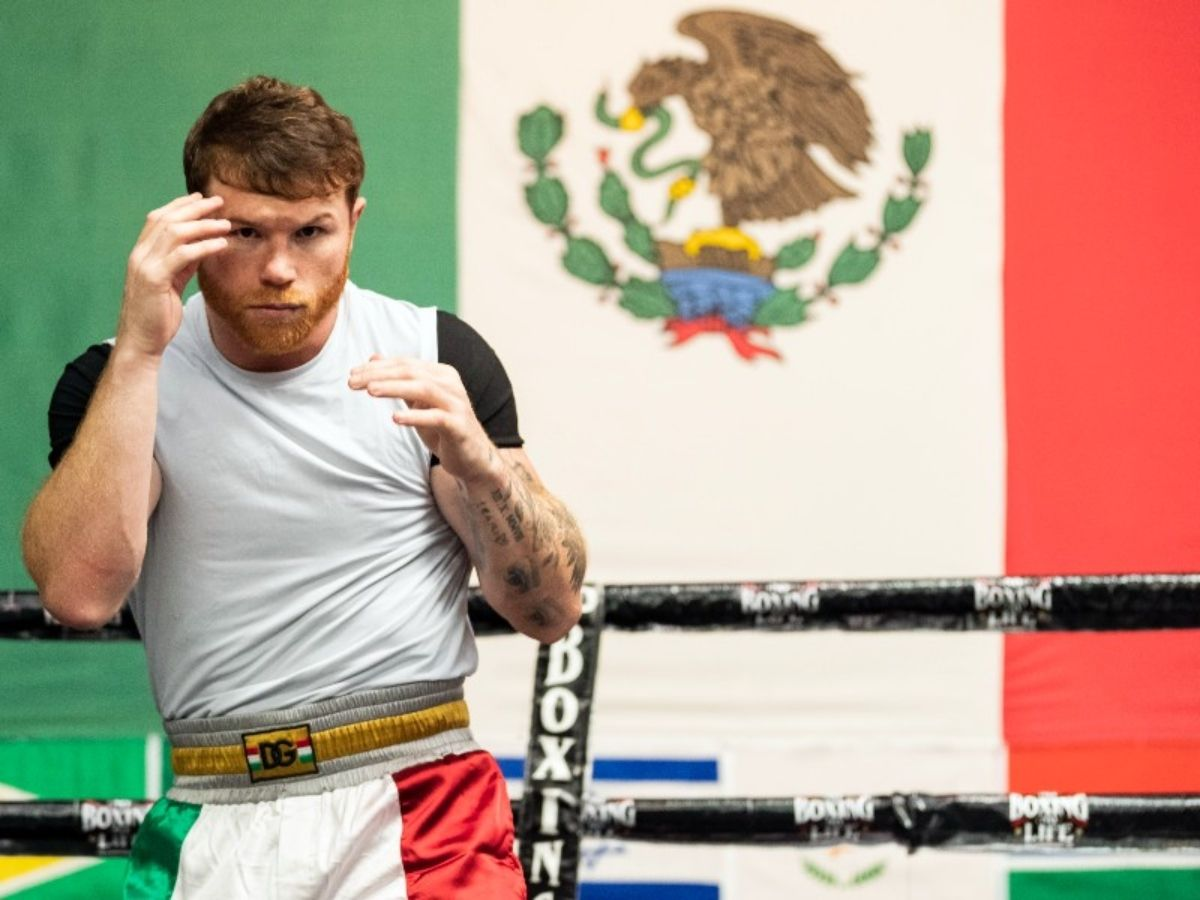 Saúl Canelo Álvarez listo para la pelea más importante de su carrera