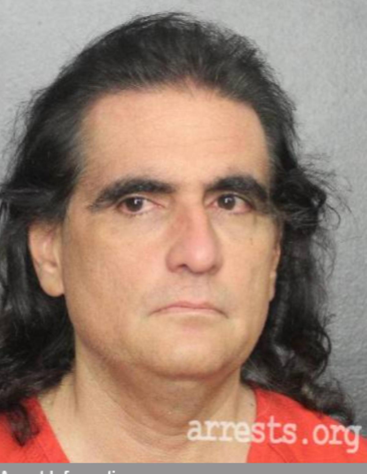La ficha de arresto del empresario colombiano Alex Saab, extraditado a Estados Unidos (EEUU).