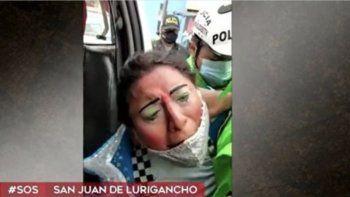 En esta captura de pantalla aparece lainformación publicada en América Noticias sobre el arresto de varios payasos que participaban en un velorio en Perú.