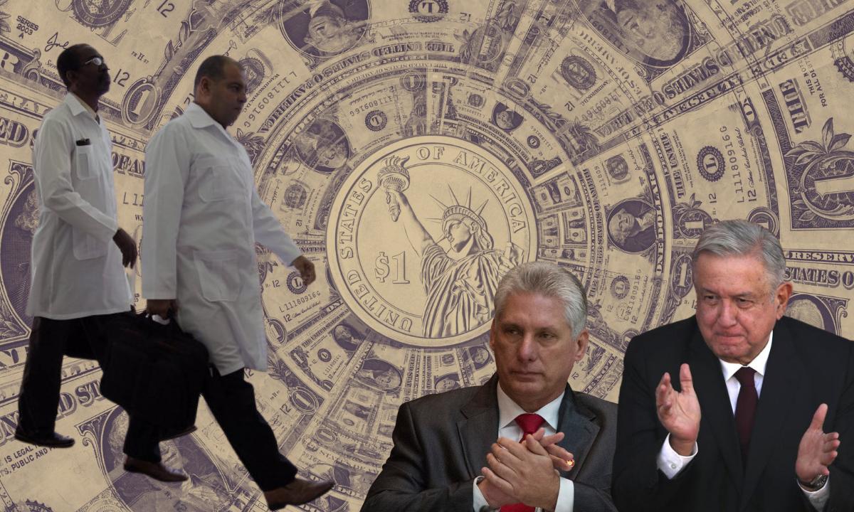 México paga casi 13 millones de dólares por médicos cubanos