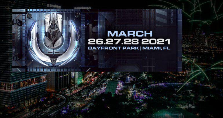 Los organizadores cancelan por coronavirus la edición 2021 del Ultra Music Festival