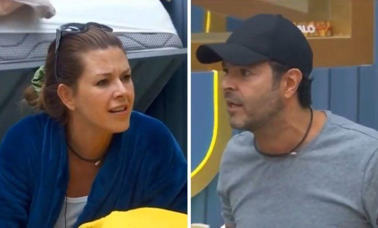 Alicia Machado y Pablo Montero pelean en La casa de los famosos