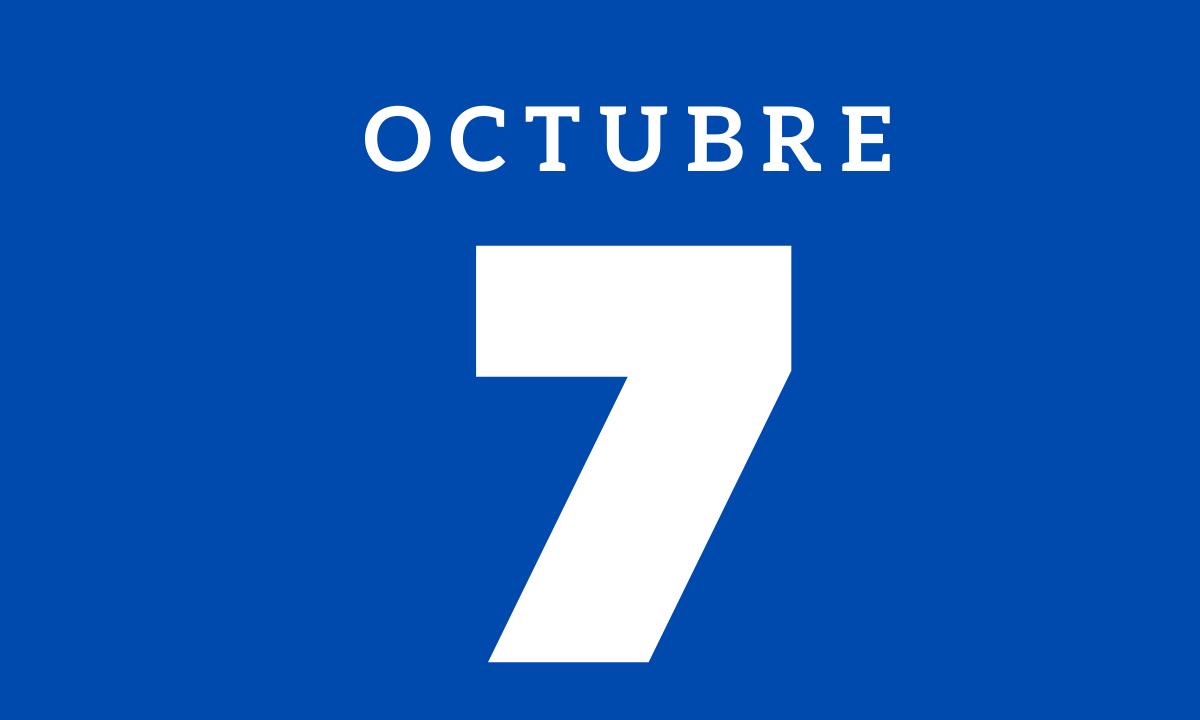 10 hechos relevantes ocurridos un 7 de octubre
