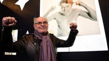 En esta foto de archivo tomada el 9 de diciembre de 2019, el actor francés Jean-Francois Stevenin asiste a un homenaje al director de cine francés Jean-Pierre Mocky en París.