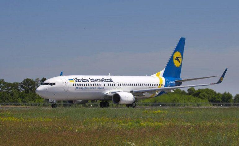 Fotografía del sábado 26 de mayo de 2018 del avión ucraniano Boeing 737-800 UR-PSR que se estrelló el miércoles 8 de enero de 2020 en las afueras de Teherán
