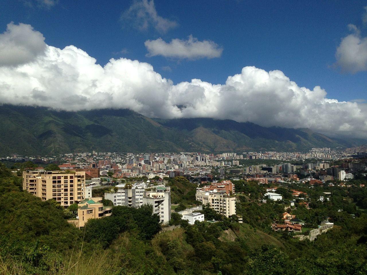 Caracas, capital de Venezuela.