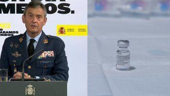 El jefe del Estado Mayor español, el general Miguel Ángel Villarroya, presentó este sábado su dimisión tras ser acusado de saltarse el protocolo para recibir la vacuna contra el coronavirus