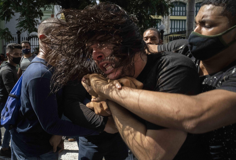 El régimen castrista le teme a las manifestaciones pacíficas en Cuba