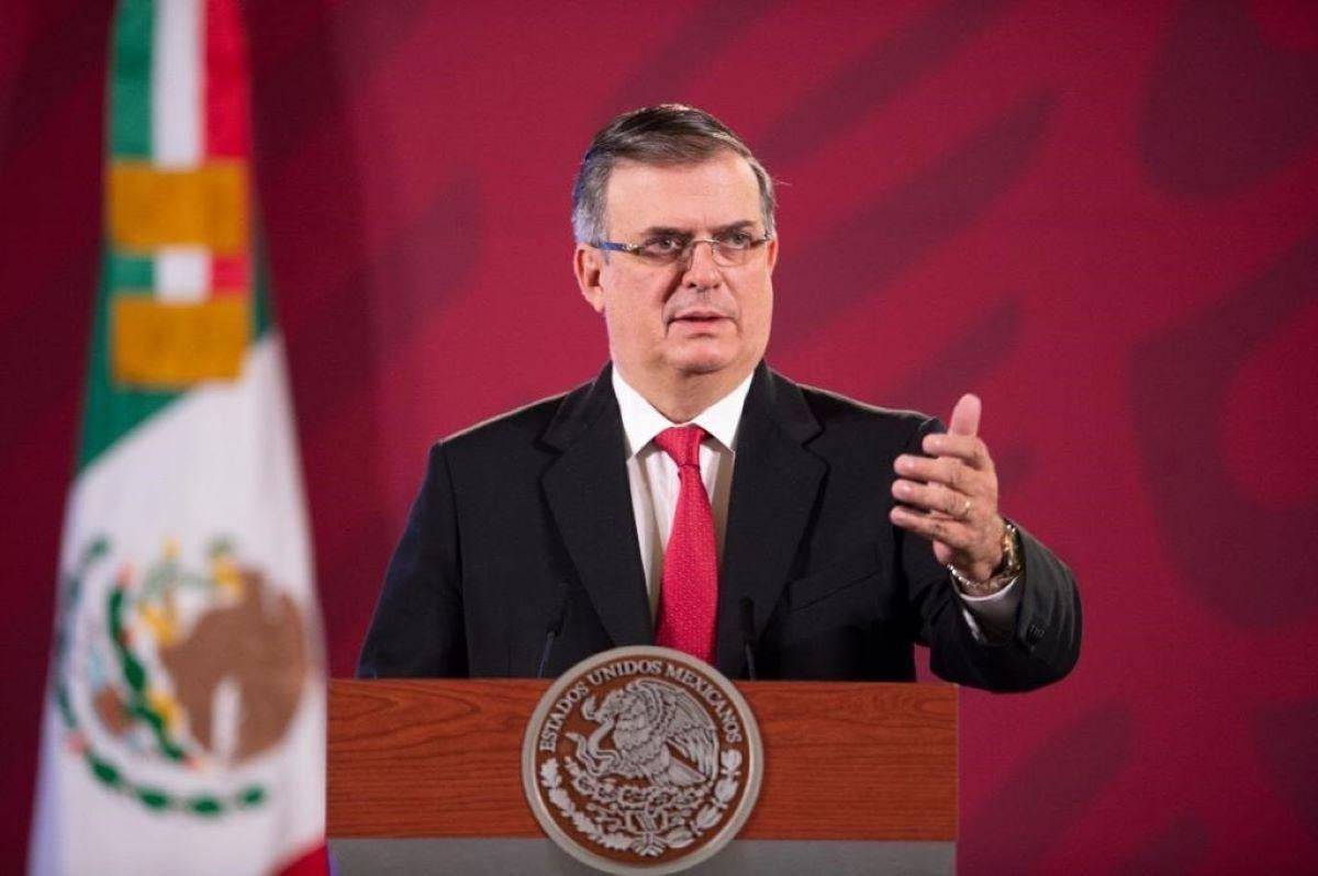 El ministro de Exteriores de México, Marcelo Ebrard.