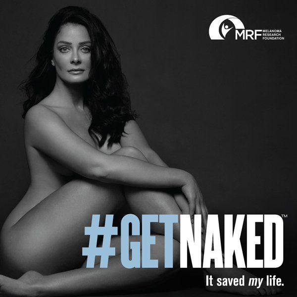 {altText(<p> En este póster publicado por la Melanoma Research Foundation, la actriz, modelo y ex Miss Universo puertorriqueña Dayanara Torres posa para la campaña #GetNaked de concientización y prevención del cáncer de piel.</p>,Dayanara Torres se desnuda para hablar de melanoma)}