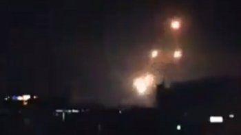 Aproximadamente 20 proyectiles, la mayoría cohetes, fueron lanzados hacia la línea de defensa en el territorio ocupado de los Altos del Golán, al norte de Israel.