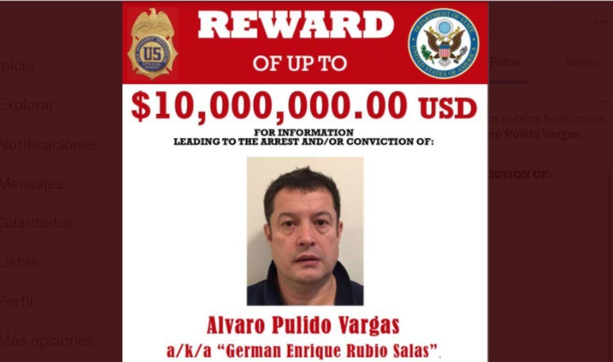 Álvaro Pulido Vargas, socio de Alex Saab, un empresario extraditado a Miami por blanqueo de dinero y cercano al dictador Nicolás Maduro.