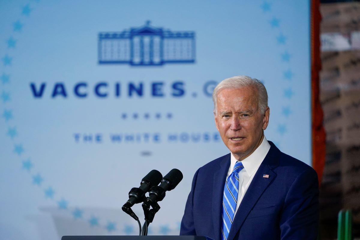 El presidente Jose Biden.