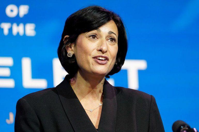 La nueva directora de los Centros para el Control y la Prevención de Enfermedades de EEUU