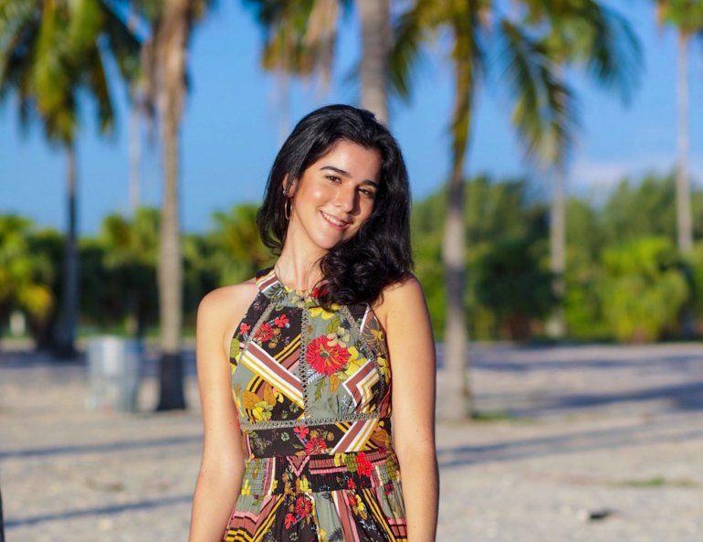 La joven Marisol Román obtuvo una licenciatura en Ingeniería eléctrica en Florida International University