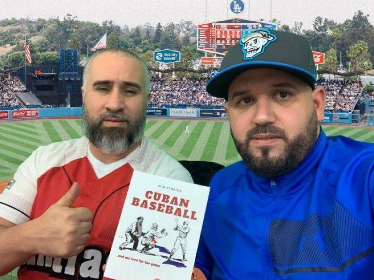 Los autores Yusseff Díaz y Yordano Carmona