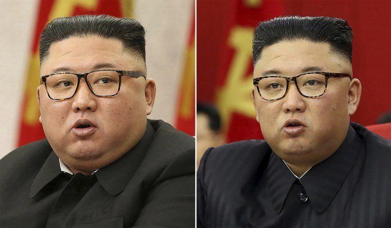 En esta combinación de imágenes proporcionadas por el gobierno norcoreano