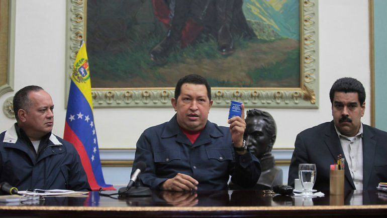 El fallecido presidente venezolano