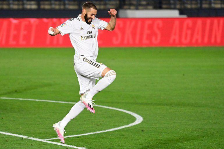 Con los dos goles del 19 de junio contra el Valencia