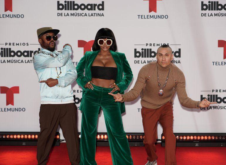 J. Rey Soul y Taboo of the Black Eyed Peas asisten a los Premios Billboard de la Música Latina 2020 en BB&T Center el 21 de octubre de 2020 en Sunrise