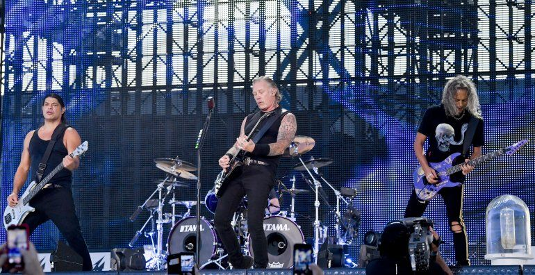 El guitarrista Robert Trujillo