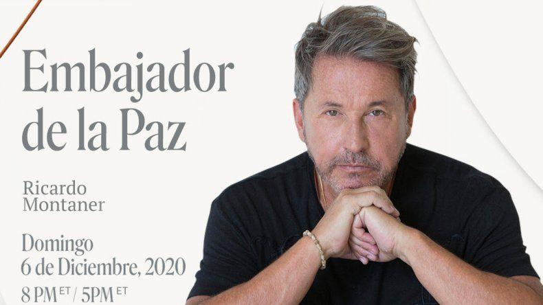 PeaceTech Lab nombra a Ricardo Montaner Embajador de la Paz