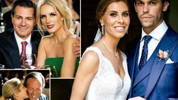 Al evento de enlace entre Gonzalo Zavala Junco y Mar Collado, acudieron la celebridad de 75 años y su esposa, la modelo Miranda Rijnsburguer, de 53, a quienes no se suele ver juntos en eventos públicos.