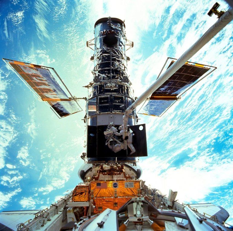 En esta imagen provista por NASA/JSC