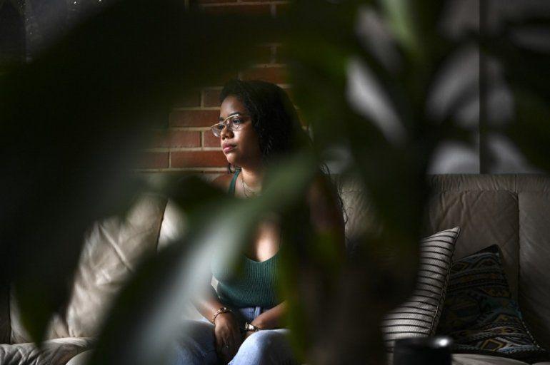 La activista de género independiente venezolana Andrea Hernández